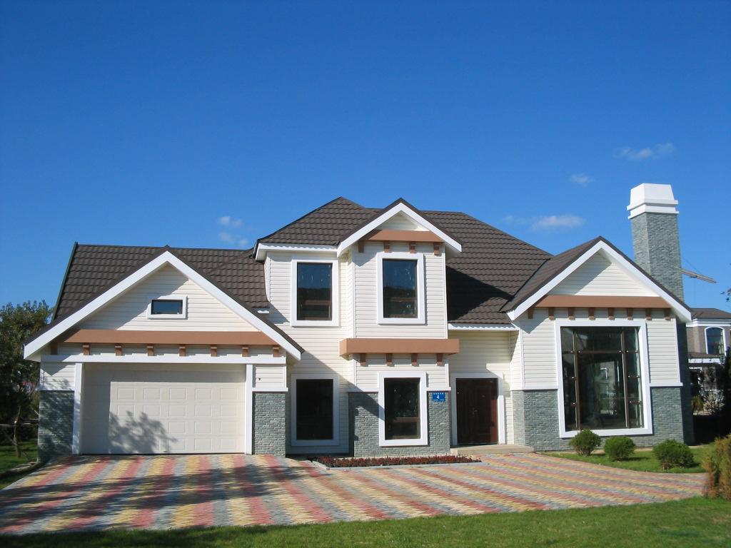 别墅外墙瓷砖效果图外墙瓷砖效果图房子外墙瓷砖